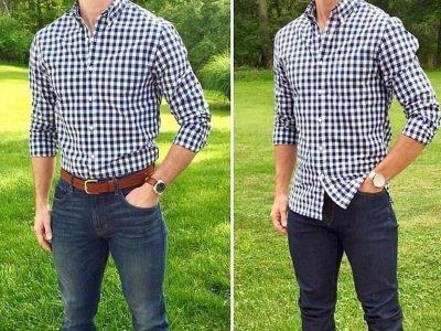 تفاوت پیراهن رسمی وکژوال من استایل