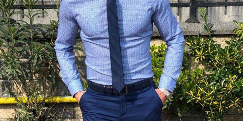 پیراهن رنگی مردانه من استایل