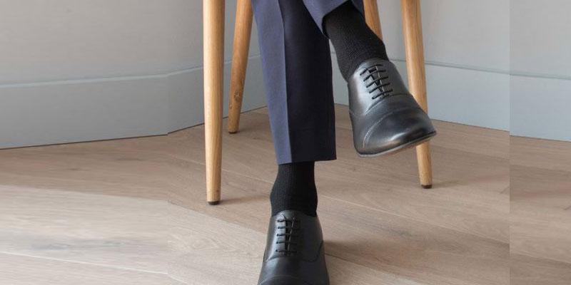کفش مشکی و قهوه ای من استایل