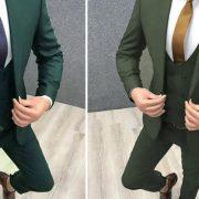 کت شلوار سبز من استایل