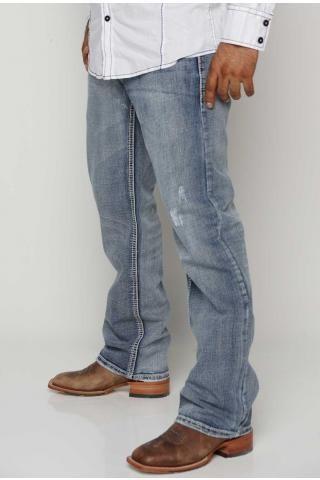 شلوار جین مردانه راحتی من استایل