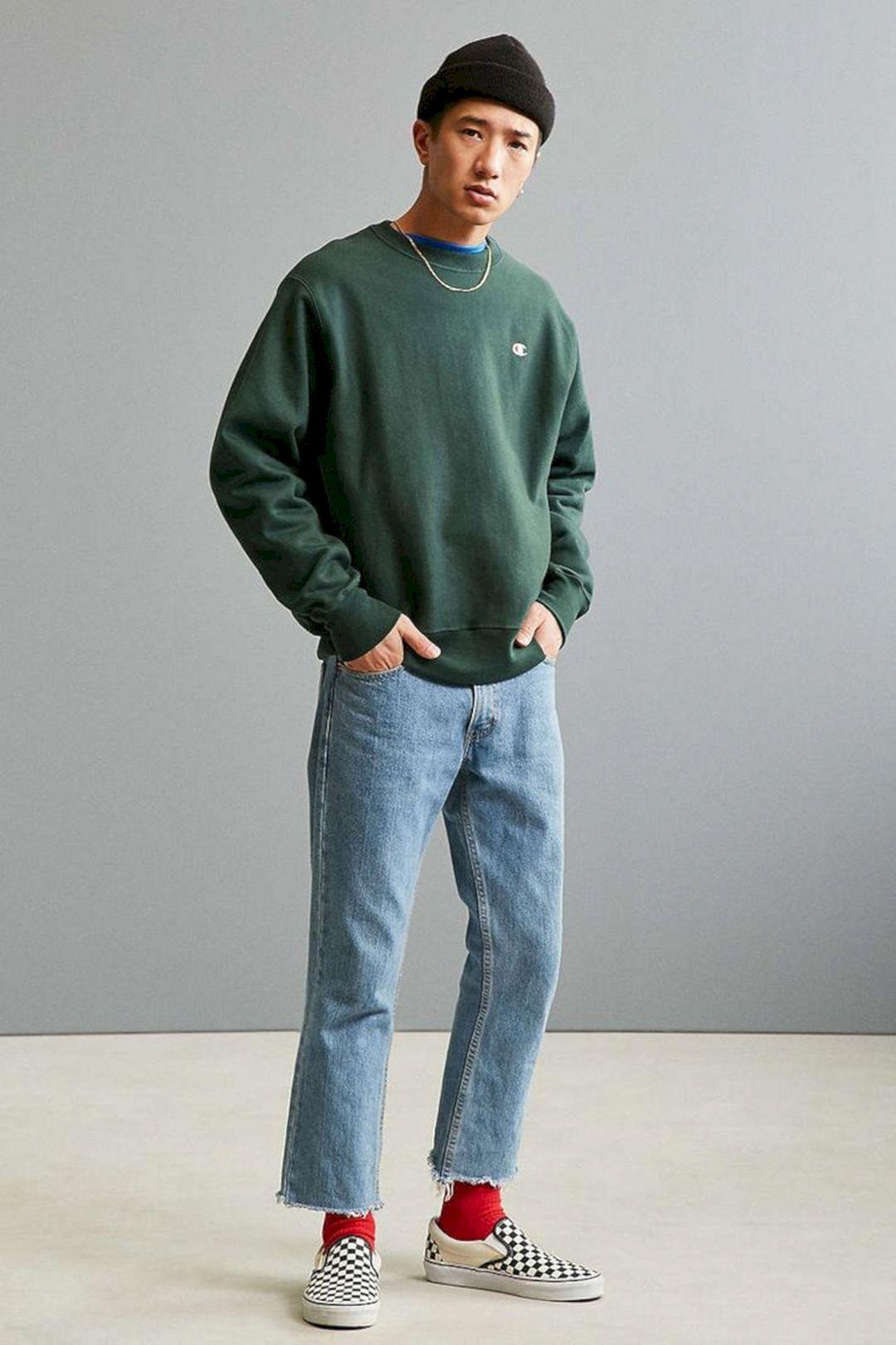 شلوار جین مردانه راسته من استایل