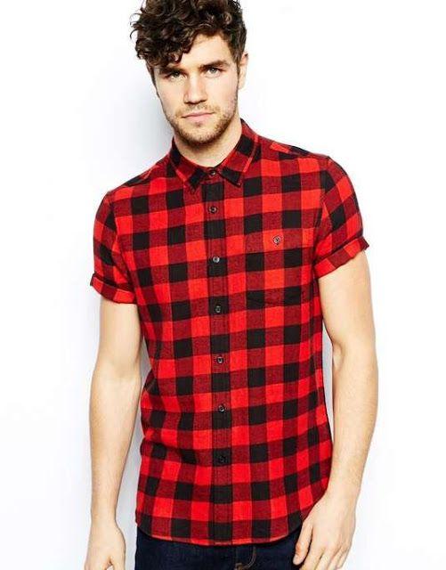 پیراهن آستین کوتاه جهارخانه من استایل