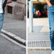 انواع شلوار جین مردانه من استایل